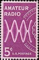 Estampilla postal o sello Amateur Radio